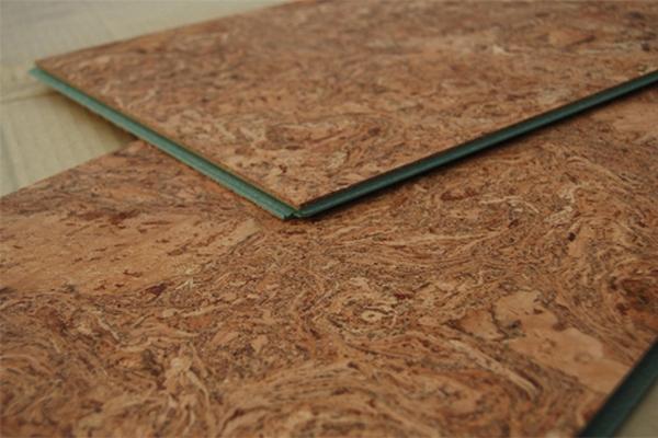 Плиты плавающего пробкового покрытия