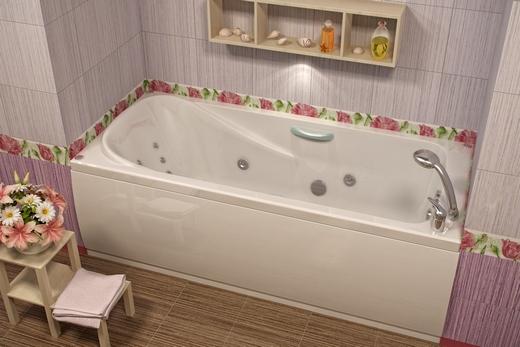 Прямоугольная ванна из ПВХ