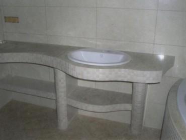 Керамическая раковина, фото