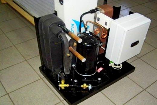 Прибор для отопления - тепловой насос
