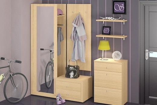 Современный набор модульной мебели, фото