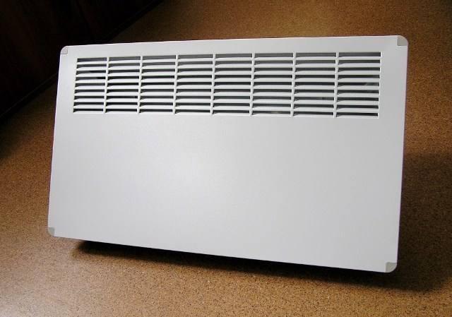 Конвектор отопления электрического типа