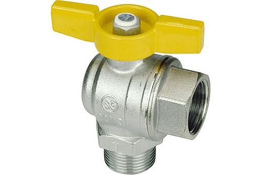 Угловой кран газовый Giacomini