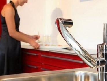 Кран кухонной мойки