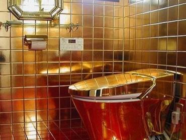 Шикарный напольный унитаз, фото