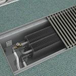 Радиатор отопления встроен в пол