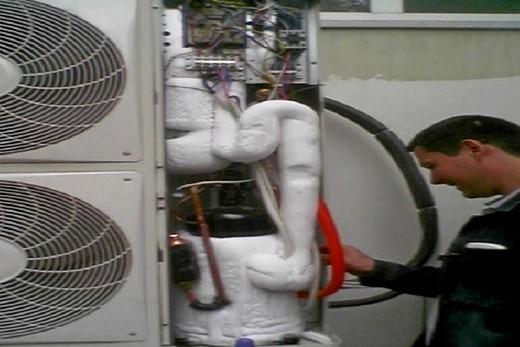 Установка зимнего пуска на кондиционер от компании Daikin