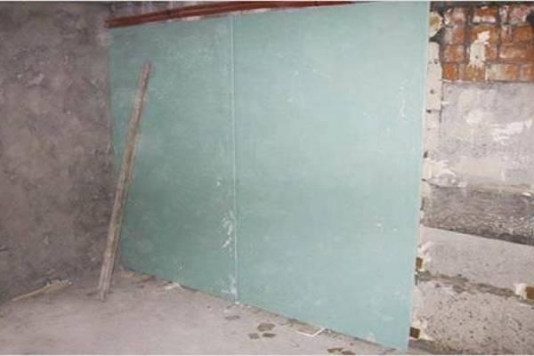 Наклейка гипсокартона непосредственно на стену