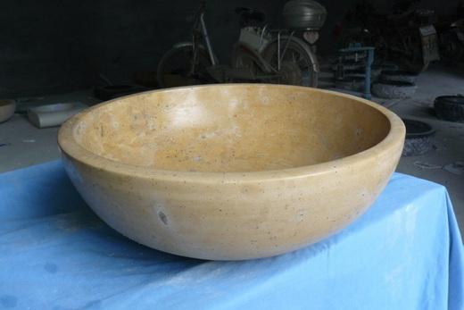 Раковина из натурального мрамора, фото