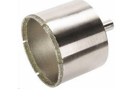 Коронка с алмазным напылением для сверления керамической раковины