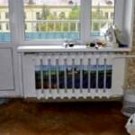 Декупаж радиатора из алюминия