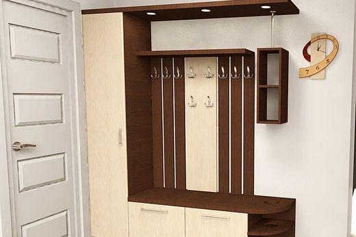Шкаф с вешалкой