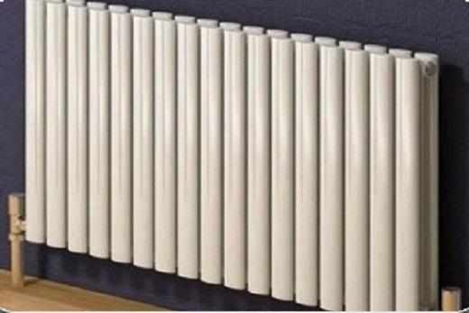 Интерьер с вакуумным радиатором отопления