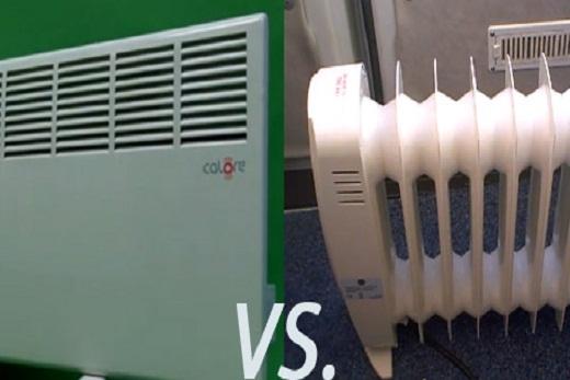 Конвектор электрического типа и масляный радиатор отопления
