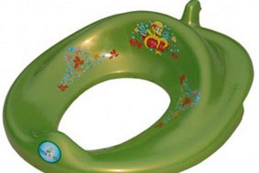 Детская накладка на унитаз Tega Осминог зеленого цвета