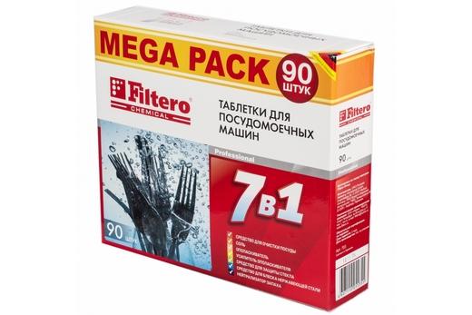 Упаковка таблеток Filtero для посудомоечных машин