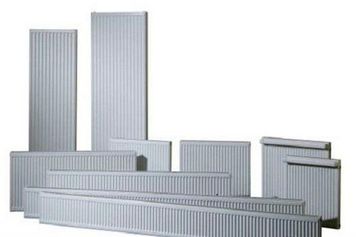 Типы стальных радиаторов панельного типа