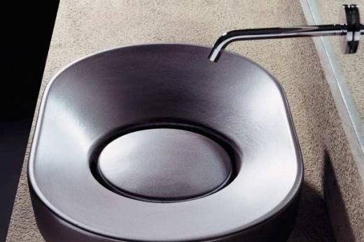 Металлическая раковина для ванной и кухни, фото