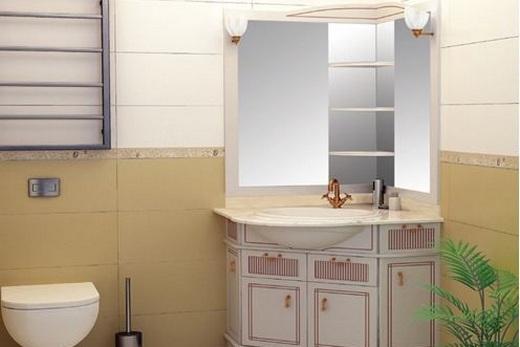 Раковина в интерьере ванной комнаты, фото