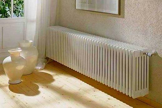 Количество секций радиатора зависит от размеров комнаты