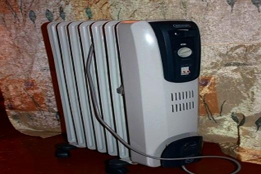 Delonghi радиатор масляного типа в интерьере