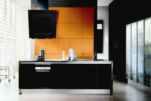 Наклонная кухонная вытяжка