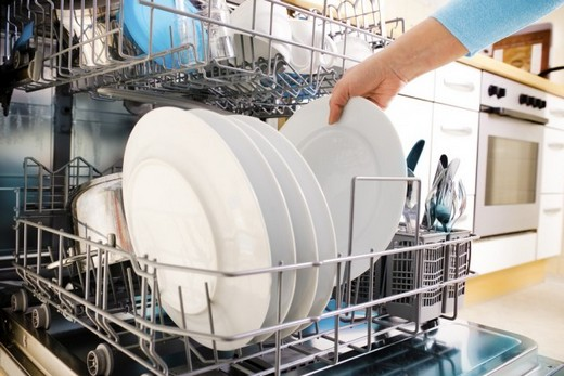 Посуда в посудомоечной машине плохо помыта