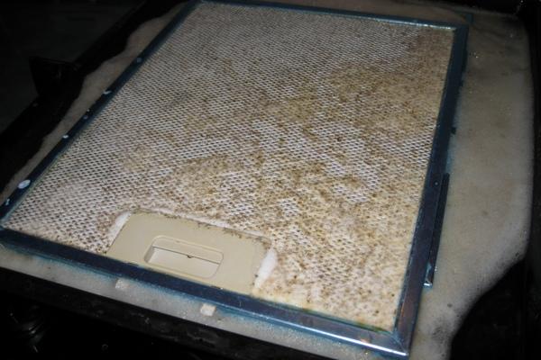 фото3 Загрязнение алюминиевого фильтра