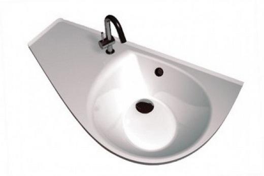 Левая раковина для ванной, фото