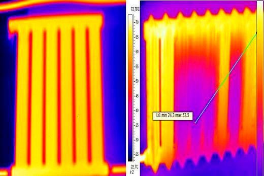 Вакуумный радиатор: его диаграмма распределения