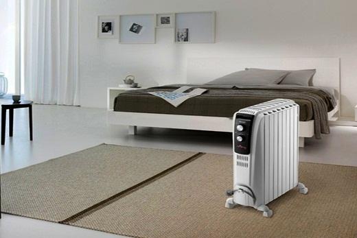 Delonghi радиатор масляного типа в спальне
