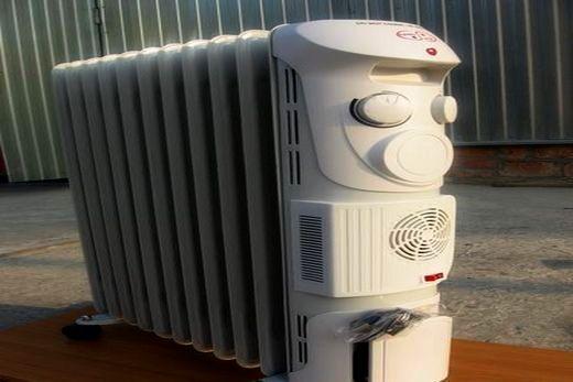 Радиатор масляного типа с вентилятором