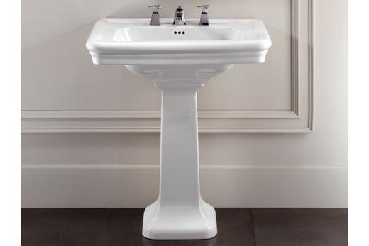 Пьедестальная раковина для ванной
