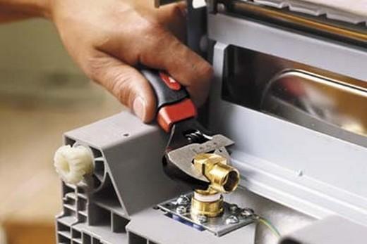Ремонт фильтра впускного клапана посудомоечной машины, фото