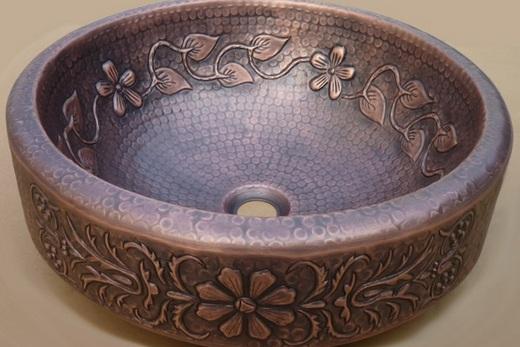 Металлическая раквоина под сатаринную бронзу, фото