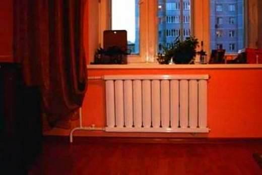 Мощность радиатора напрямую зависит от температуры за окном!
