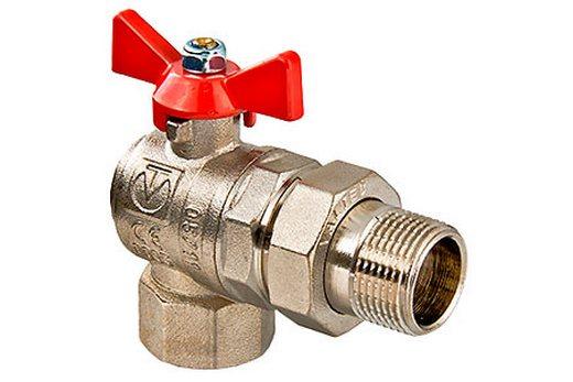 Valtec - угловой кран для радиатора