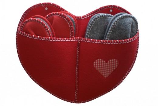 Фартук-карман для домашних тапочек, фото