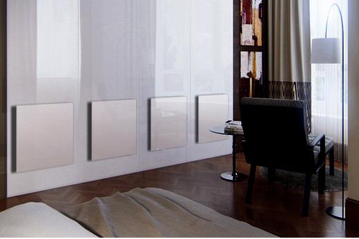 Интерьер с керамическими обогревательными панелями