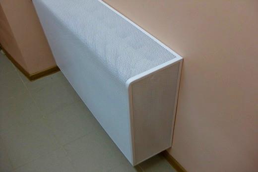 Декоративный экран на вакуумном радиаторе