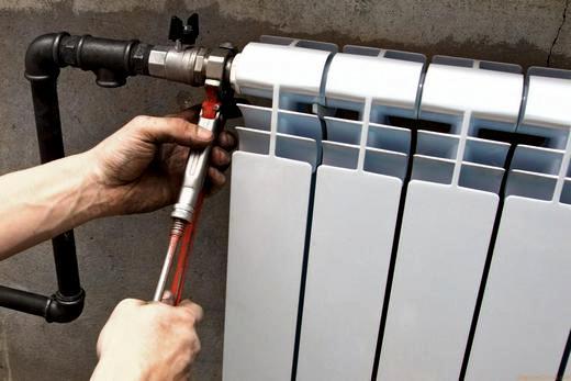 Самостоятельная замена радиатора отопления