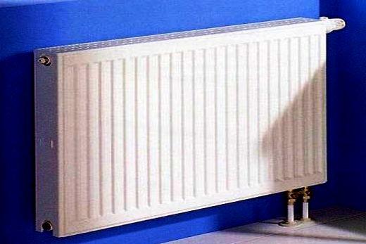 Подключение панельного радиатора из стали