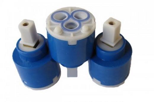 Картридж с керамическими вкладышами для рычажного смесителя