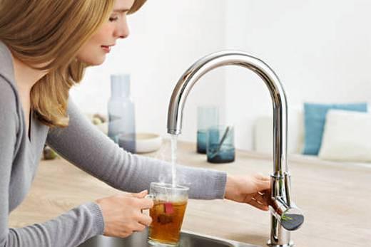 Смесители Grohe с подогревом воды