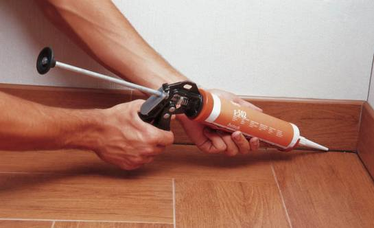 Герметик для заделки швов в потолочной плитке