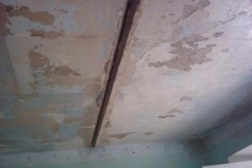 Для этого потолка нужна чистка