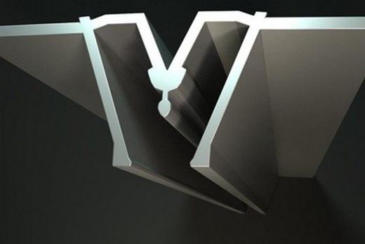 Соединительный профиль для стыковки двух полотнищ