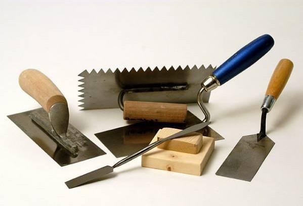 Для штукатурных работ инструменты