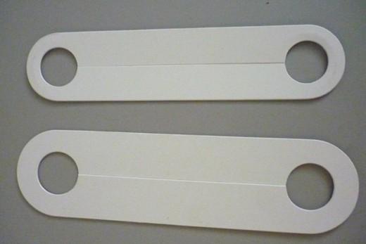 Фабричные планки для обводки труб