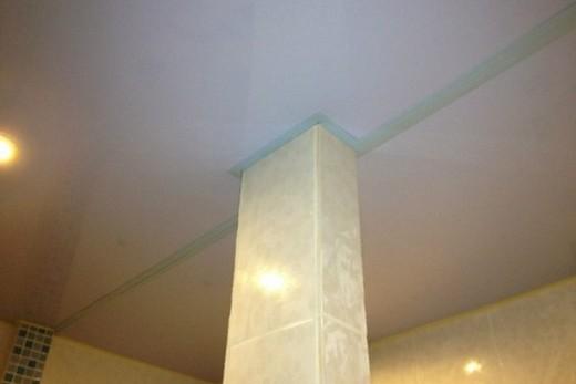 Обводка колонны